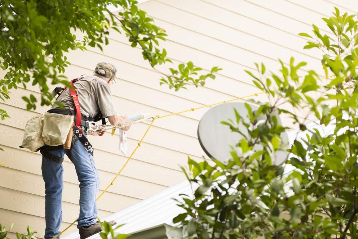 Nettoyage façade Luxembourg • Homme à tout faire Luxembourg